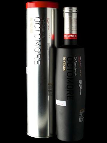 Bruichladdich Octomore 10 Years First Limited Relase 2012