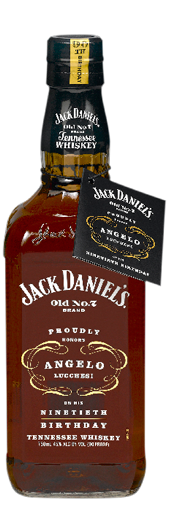 Jack Daniel's Angelo Lucchesi Edition 75 cl 45 %