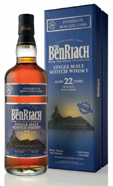 BenRiach 22 years Moscatel Finish Whisky