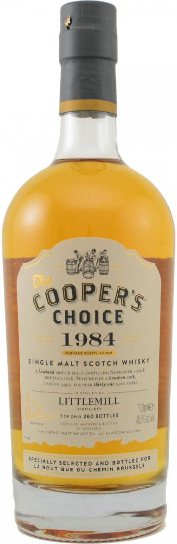 Littlemill Cooper's Chocie 31 Jahre 1984 Single Malt