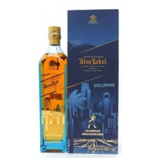 Johnnie Walker Blue Label Hollywood Los Angeles Skyline