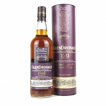 Glendronach 1992 25 Year Sherry Cask Only For Denmark