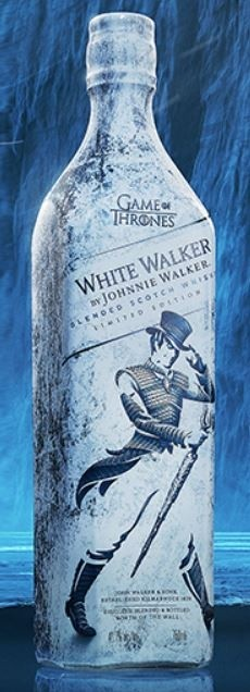 Johnnie Walker White Walker Game of Thrones Edition
