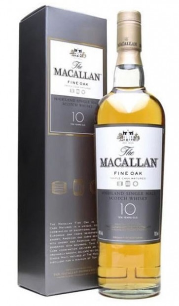 Macallan 10 years Fine Oak