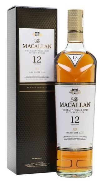 Macallan Sherry 12 years oak cask Single Malt