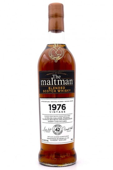 Ben Nevis Vintage 1976 Blended (42 Years) The Maltman