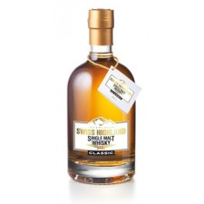 Swiss Highland Single Malt Whisky Classic 5 cl