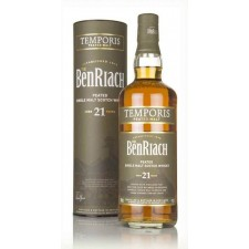 Benriach 21 years old Temporis Peated