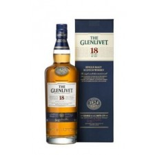 Glenlivet 18 years Scotch Single Malt Whisky 70 cl