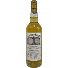 Springbank 21 years 1995 The Greedy Angels - 2nd Edition
